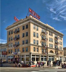 Local Attractions:      Mizpah Hotel  in Tonopah