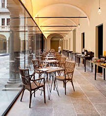 Dining at      NH Collection Turin Piazza Carlina  in Turin