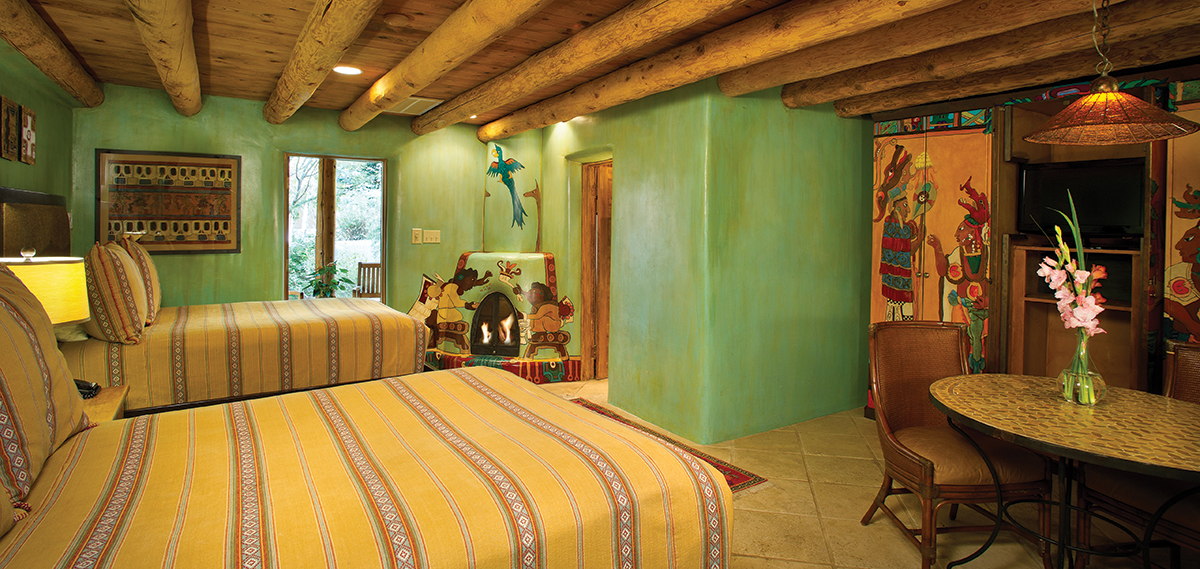 Accommodations:      El Monte Sagrado Living Resort & Spa  in Taos