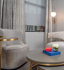 Accommodations:      Tulsa Club Hotel, Curio Collection by Hilton  in Tulsa