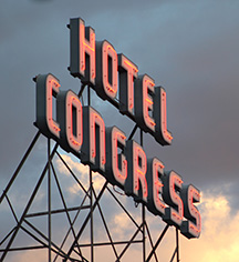 The Hotel Congress  in Tucson