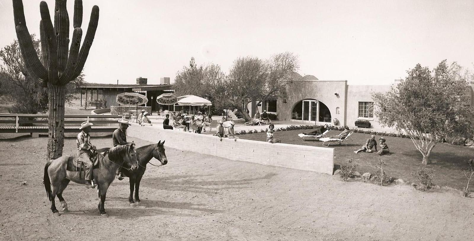 Historic image of White Stallion Ranch, 1900, Member of Historic Hotels of America, in Tuscan, Arizona, Discover