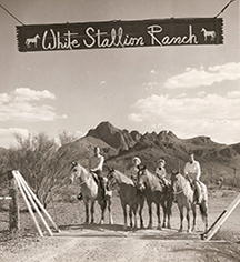History:      White Stallion Ranch  in Tucson