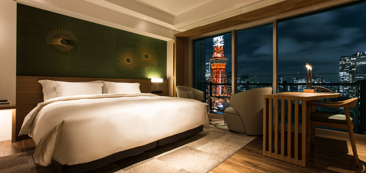 Accommodations:      The Prince Park Tower Tokyo  in Tokyo