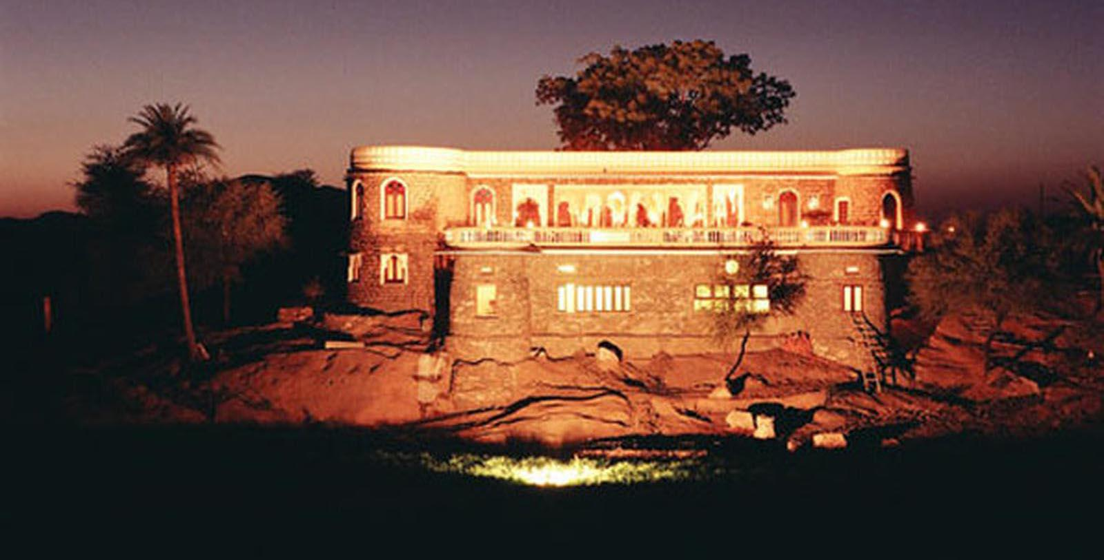 Historic Image of Hotel Exterior Fort Seengh Sagar, 1670, Member of Historic Hotels Worldwide, in Deogarh, India, Discover