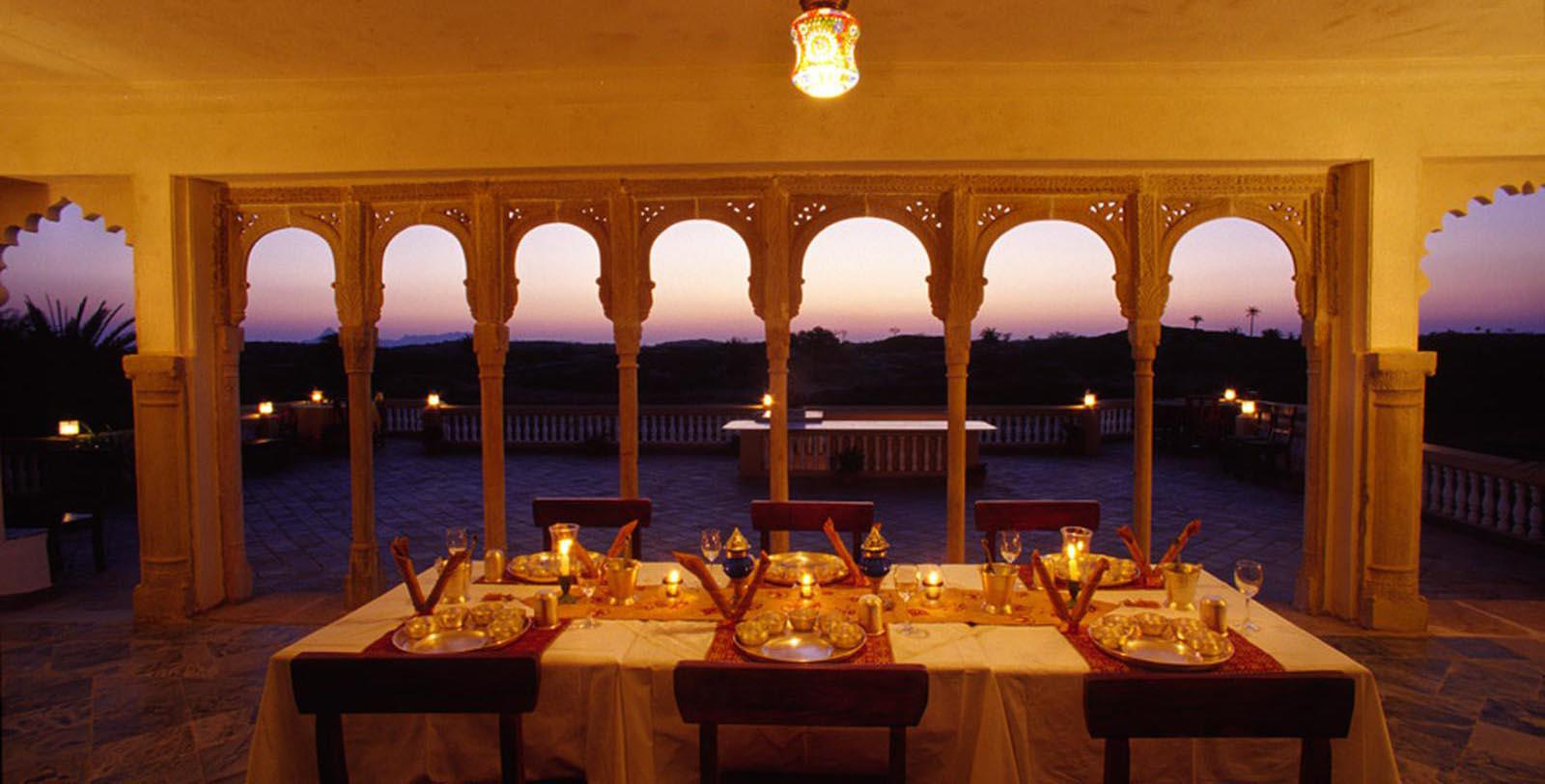 Image of Event Space Fort Seengh Sagar, 1670, Member of Historic Hotels Worldwide, in Deogarh, India, Experience