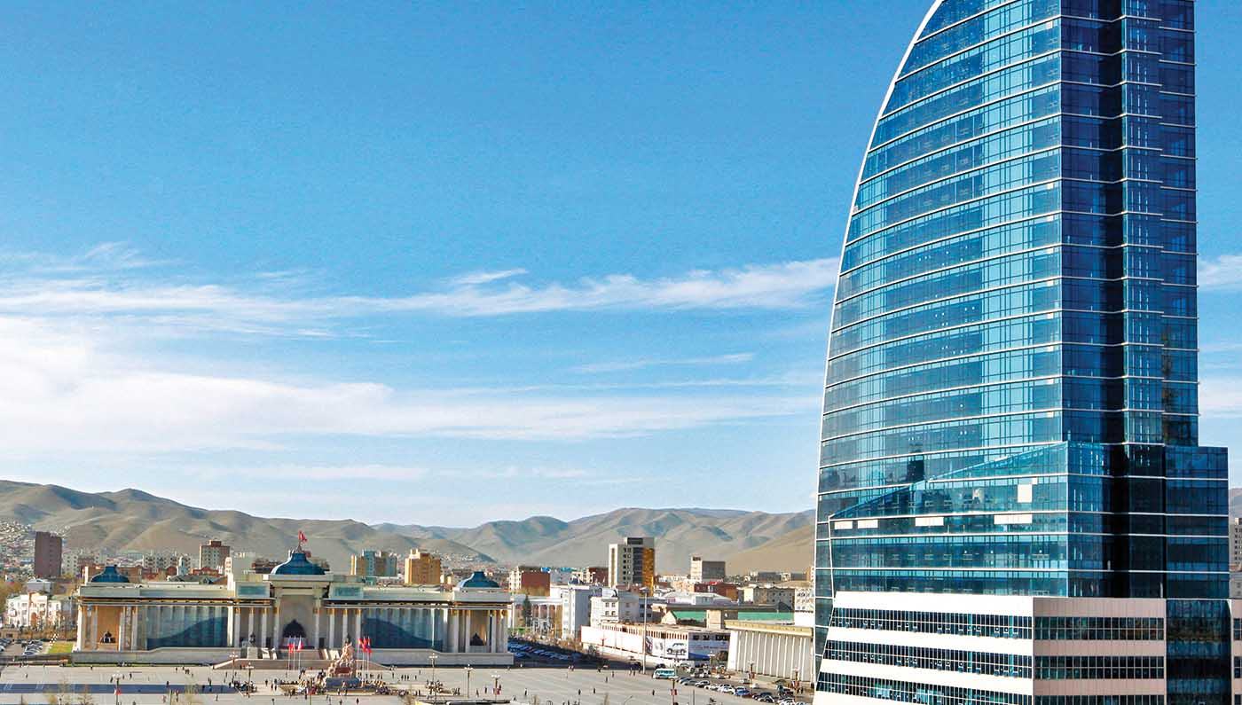 The Blue Sky Hotel & Tower  in Ulaanbaatar