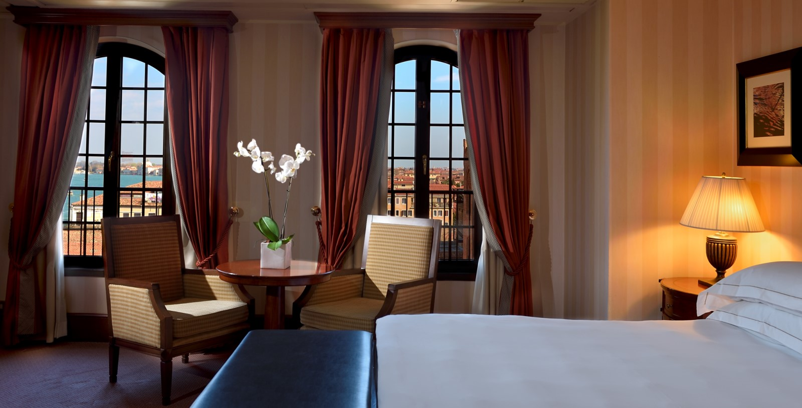 Image of Guestroom Interior, Hilton Molino Stucky Venice, Italy, 1884, Member of Historic Hotels Worldwide, Accommodations