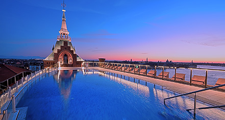 Activities:      Hilton Molino Stucky Venice  in Venice
