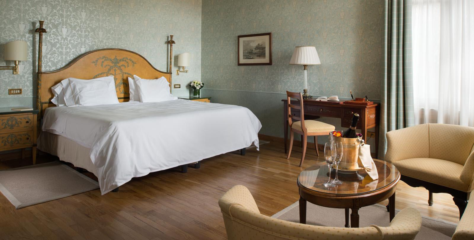 Image of Guestroom Interior Hotel Villa Cipriani, 1889, Member of Historic Hotels Worldwide, in Asolo, Italy, Location