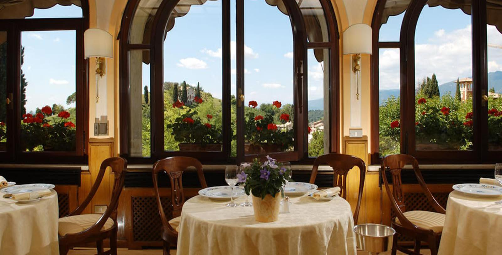 Image of Villa Cipriani Restaurant Hotel Villa Cipriani, 1889, Member of Historic Hotels Worldwide, in Asolo, Italy, Taste
