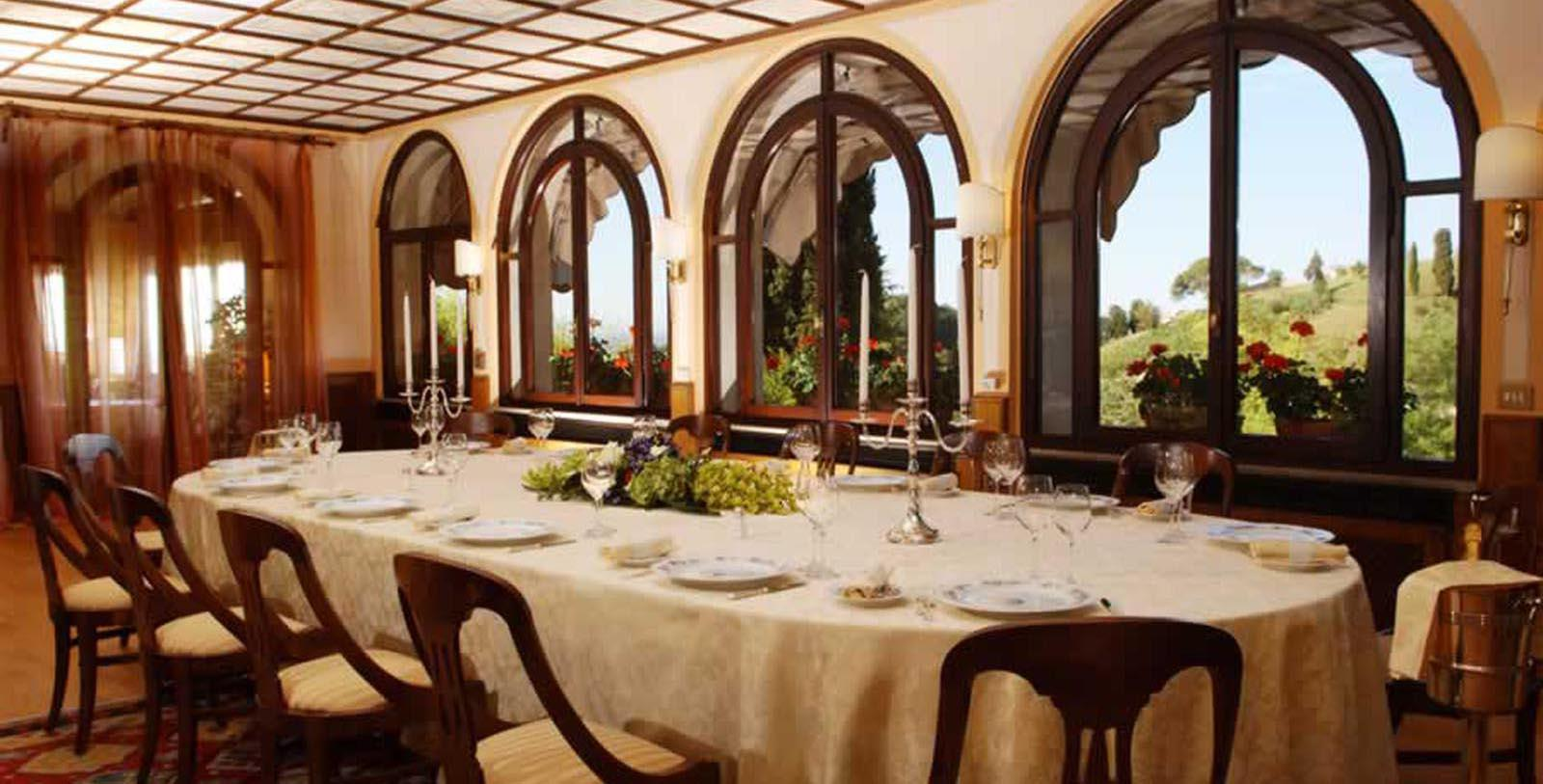 Image of Villa Cipriani Restaurant Hotel Villa Cipriani, 1889, Member of Historic Hotels Worldwide, in Asolo, Italy, Experience