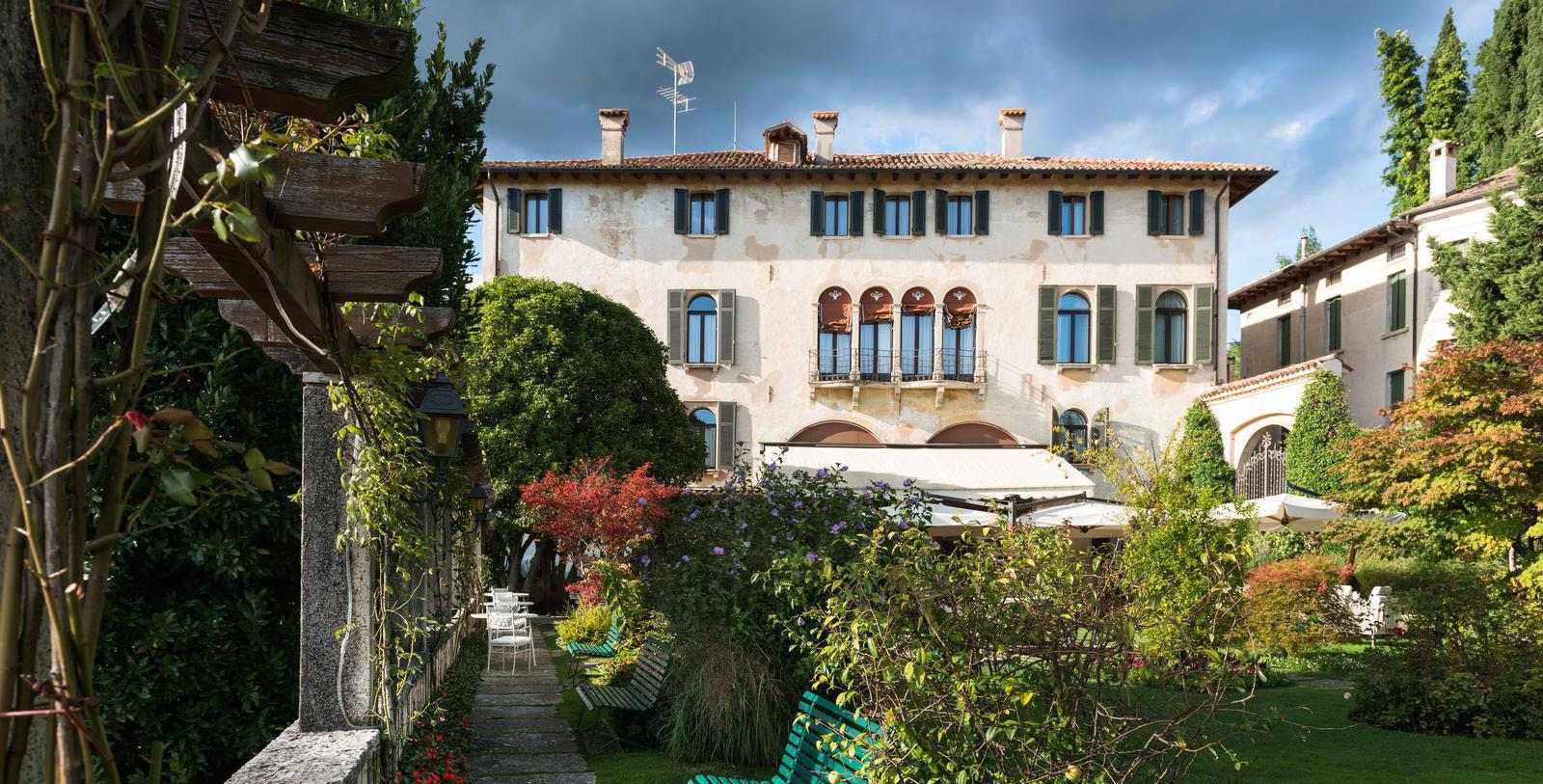 Image of Garden Hotel Villa Cipriani, 1889, Member of Historic Hotels Worldwide, in Asolo, Italy, Special Offers, Discounted Rates, Families, Romantic Escape, Honeymoons, Anniversaries, Reunions