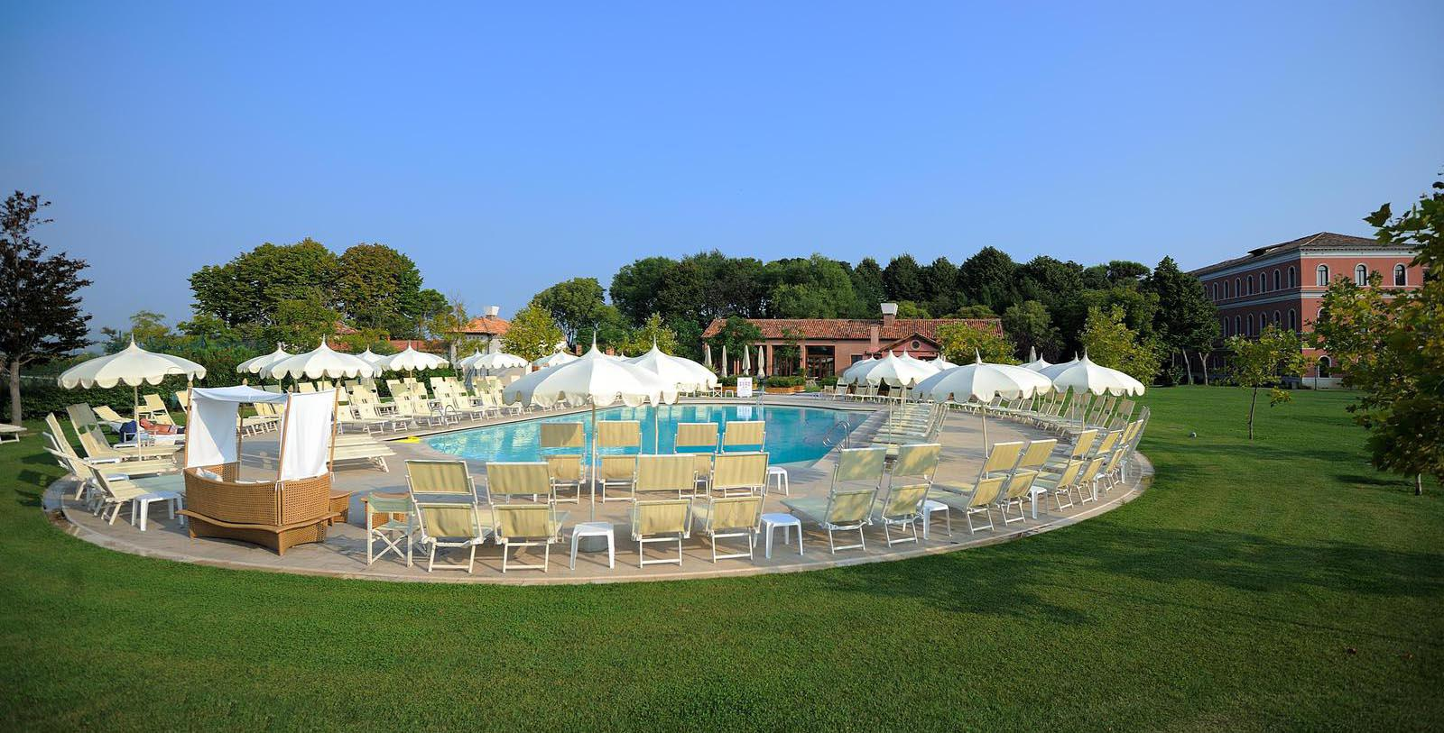 Image of Outdoor Pool at San Clemente Palace Kempinski, 1131, Member of Historic Hotels Worldwide, in Venice, Italy, Explore