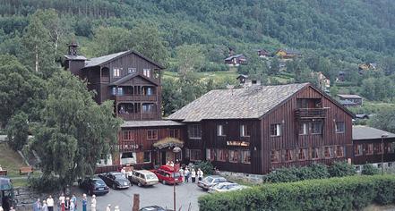History Fossheim Turisthotell In Lom