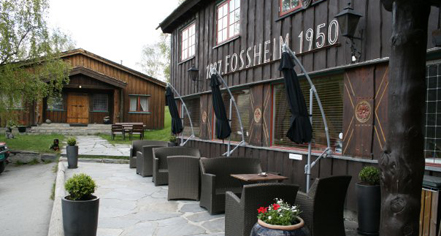 Local Attractions:      Fossheim Turisthotell  in Lom