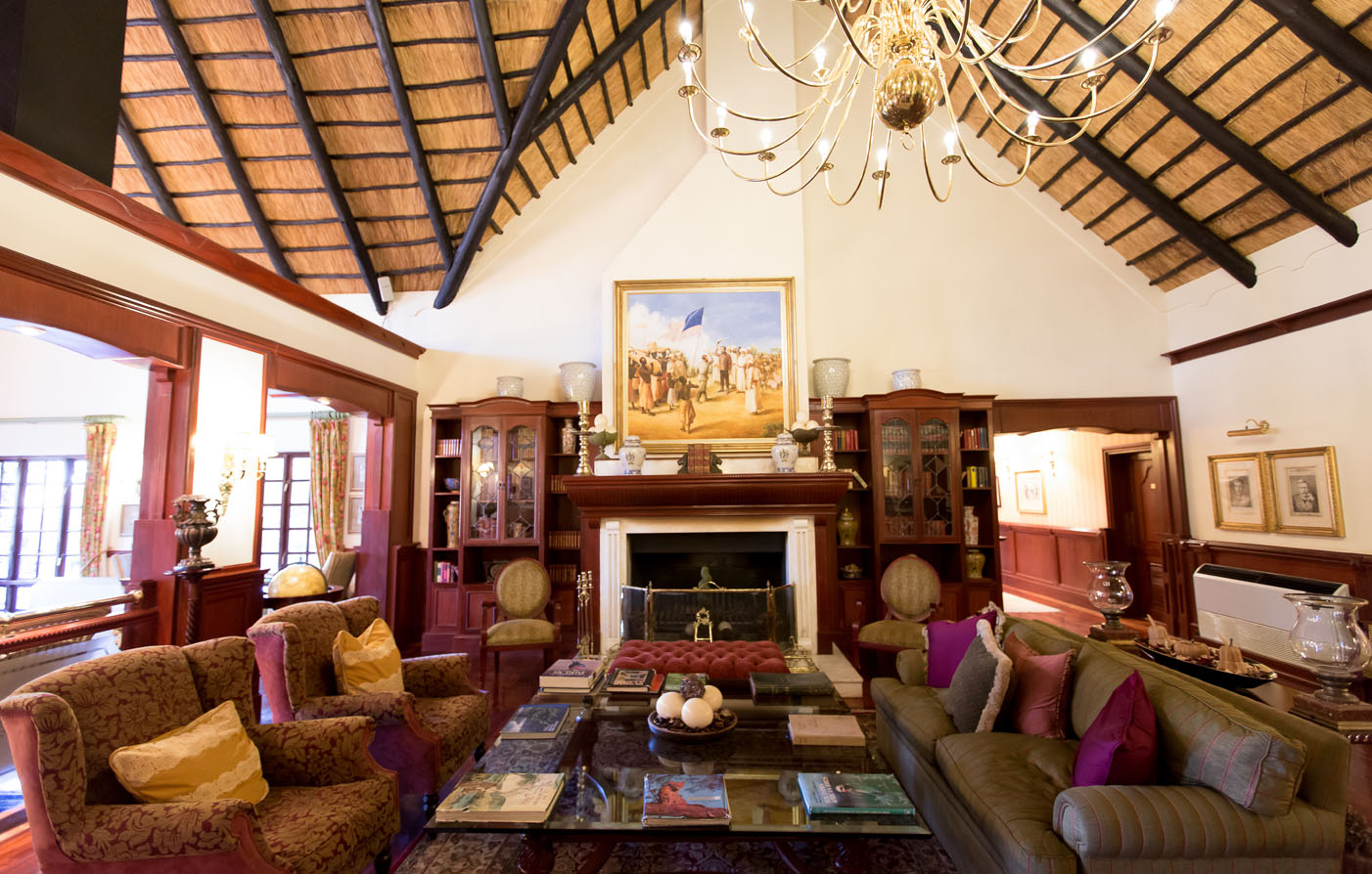Dining:      Stanley & Livingstone Game Reserve  in Victoria Falls
