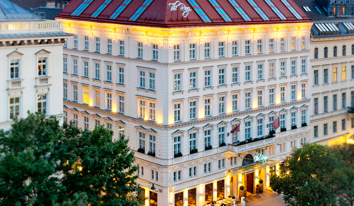 The Ring, Vienna's Casual Luxury Hotel  in Vienna