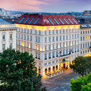Book a stay with The Ring, Vienna's Casual Luxury Hotel in Vienna