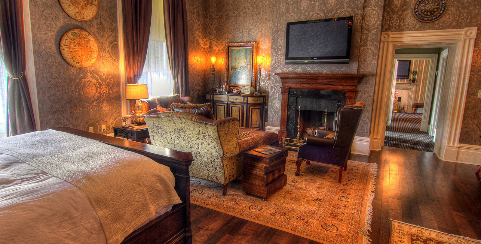 Image of Guestroom at The Martha Washington Hotel & Spa, 1832, Member of Historic Hotels of America, in Abingdon, Virginia, Accommodations