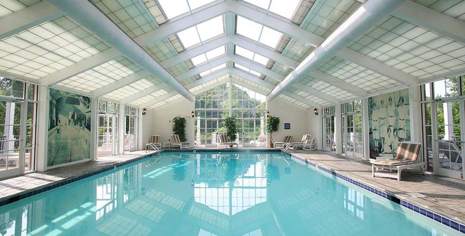 Image of Indoor Pool at The Martha Washington Hotel & Spa, 1832, Member of Historic Hotels of America, in Abingdon, Virginia, Explore