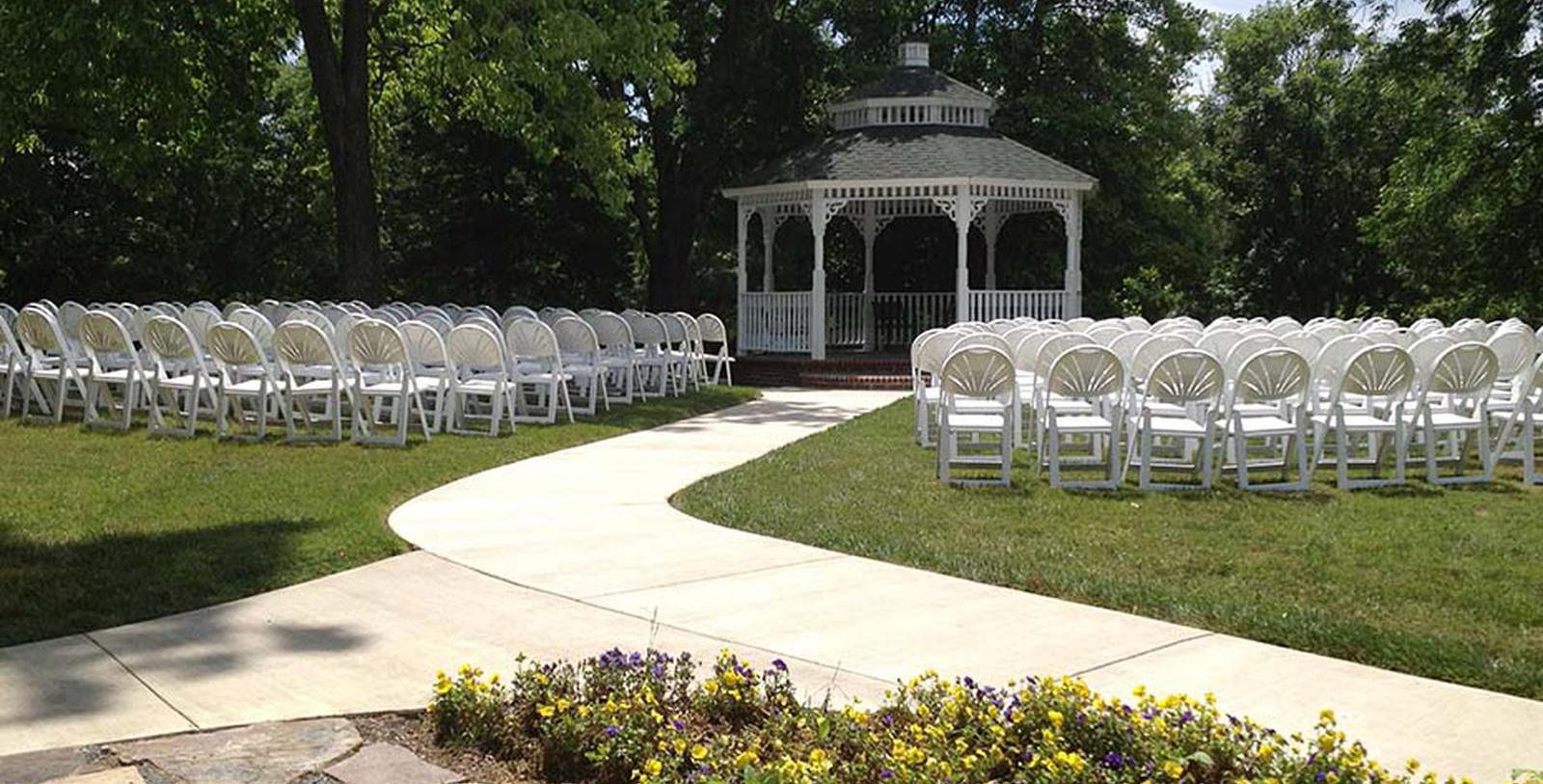 Image of Gazebo at The Martha Washington Hotel & Spa, 1832, Member of Historic Hotels of America, in Abingdon, Virginia, Experience