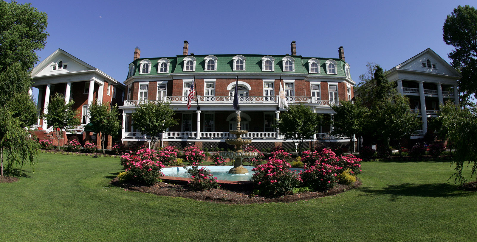 Image of Hotel Exterior at The Martha Washington Hotel & Spa, 1832, Member of Historic Hotels of America, in Abingdon, Virginia, Hot Deals