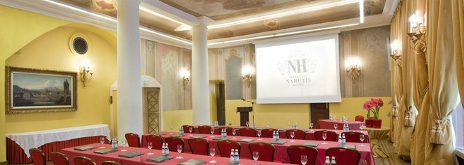 Meetings at      Narutis Hotel  in Vilnius