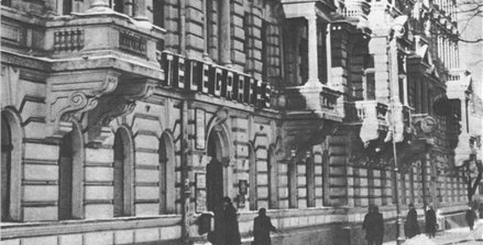 Historic Image of Hotel Exterior Kempinski Hotel Cathedral Square, 1900, Member of Historic Hotels Worldwide, in Vilnius, Lithuania, Discover