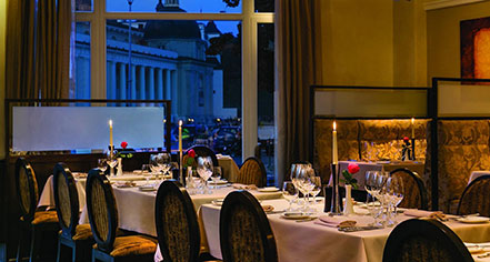 Dining at      Kempinski Hotel Cathedral Square  in Vilnius