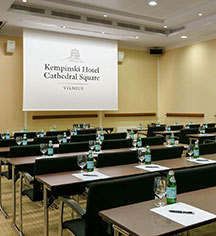 Events at      Kempinski Hotel Cathedral Square  in Vilnius