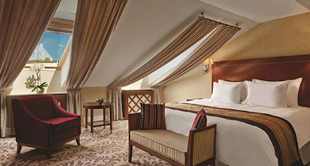 Accommodations:      Kempinski Hotel Cathedral Square  in Vilnius