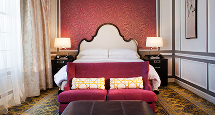 Image of Guestroom Interior The Churchill, 1906, Member of Historic Hotels of America, in Washington, DC, Accommodations