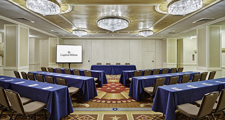 Meetings at      Capital Hilton  in Washington