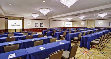 Venues & Services:      Capital Hilton  in Washington