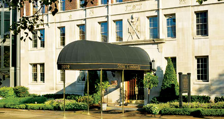 Hotel Lombardy in Washington