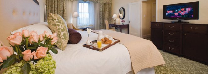 Accommodations:      Omni Shoreham Hotel, Washington DC  in Washington