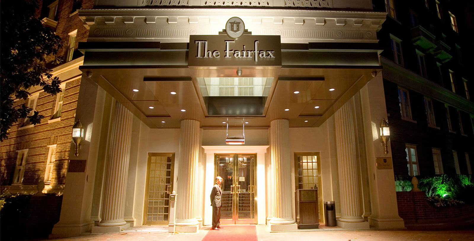 Image of Exterior The Fairfax at Embassy Row, 1927, Member of Historic Hotels of America, in Washington, DC, History