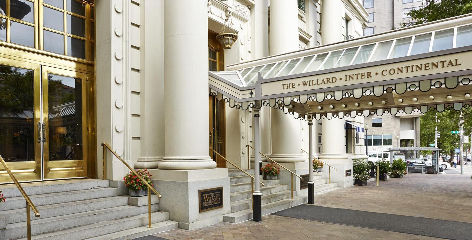 Image of hotel exterior The Willard InterContinental, Washington DC, 1847, Member of Historic Hotels of America, Discover