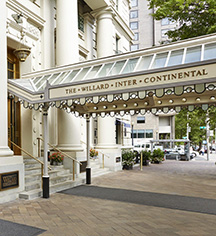 Local Attractions:      The Willard InterContinental, Washington DC  in Washington