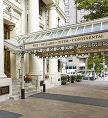 Local Attractions:      The Willard InterContinental, Washington DC  in Washington