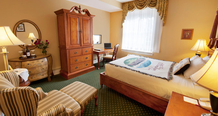 Accommodations:      The Mimslyn Inn  in Luray