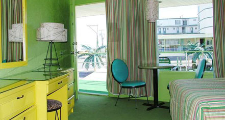 Accommodations:      Caribbean Motel  in Wildwood Crest