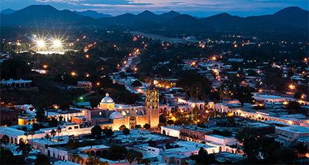 Local Attractions:      Hacienda de los Santos  in Alamos
