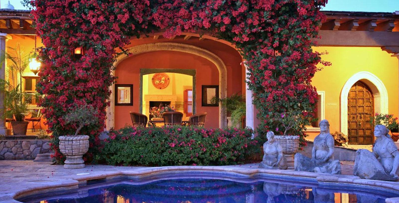 Image of Pool Exterior, Hacienda de los Santos, Alamos, Mexico, 1600s, Member of Historic Hotels Worldwide, Overview