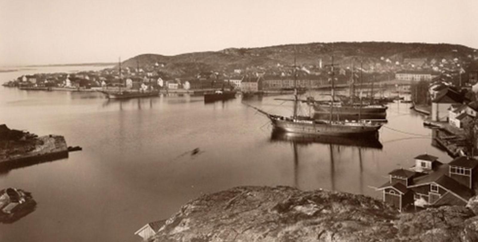 Image of Historic Risør Harbor, Det Lille Hotel, 1750, Member of Historic Hotels Worldwide, Risør, Norway, History
