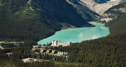 Fairmont Chateau Lake Louise  in Lake Louise