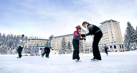 Activities:      Fairmont Chateau Lake Louise  in Lake Louise