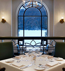 Dining at      Fairmont Chateau Lake Louise  in Lake Louise