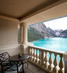 Accommodations:      Fairmont Chateau Lake Louise  in Lake Louise